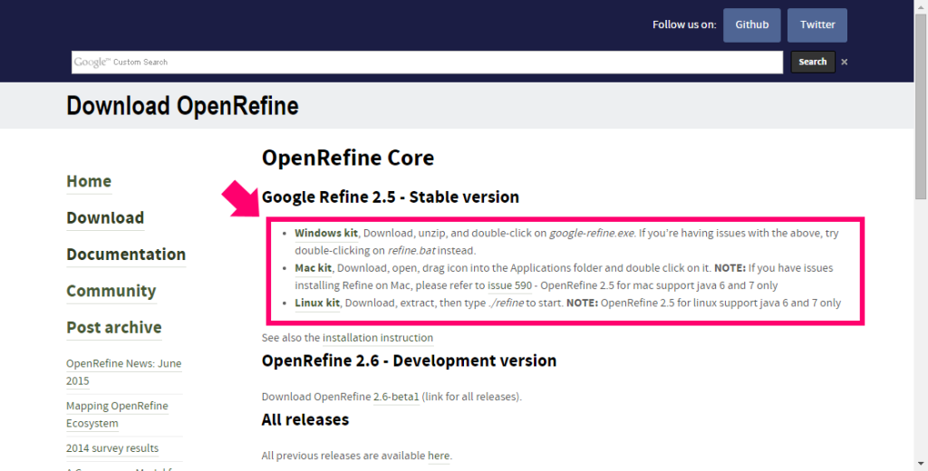 screenshot-openrefine.org
